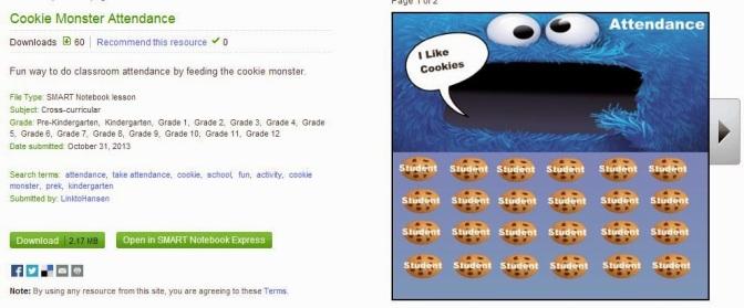 Cookie Monster Attendance – Hansen's Link to Tech