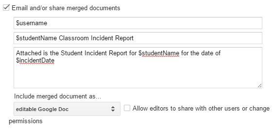 incident report document