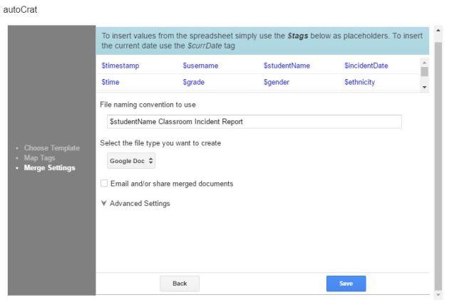 autoCrat File Name