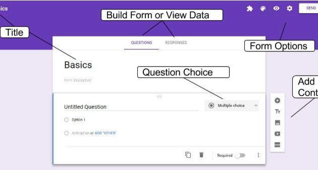 Google Form Layout
