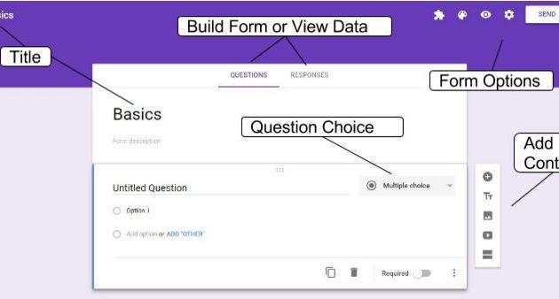 Google Form Layout