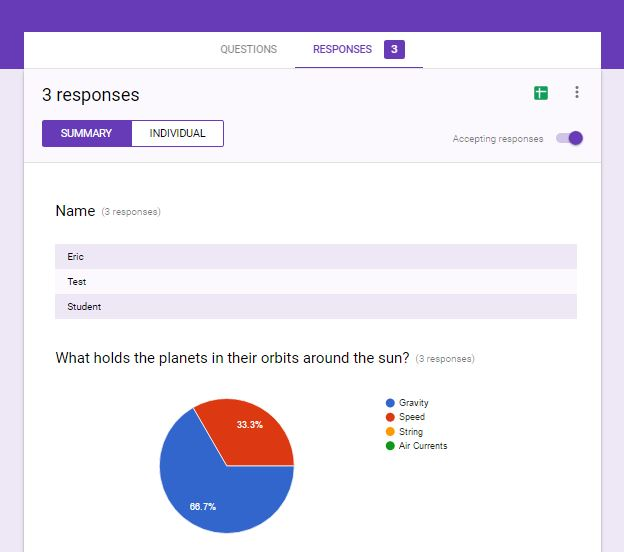 Response Options in Google Forms – Hansen's Link to Tech