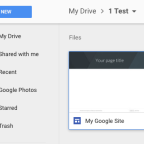 Site or File? Customizing and Safety of New Google Sites